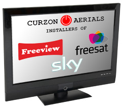 Installers of Freeview, Freesat and Sky TV